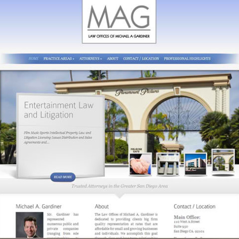 Gardiner Legal WordPress Site