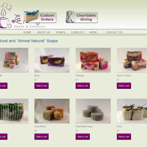 LaPlaya Soaps & Candles