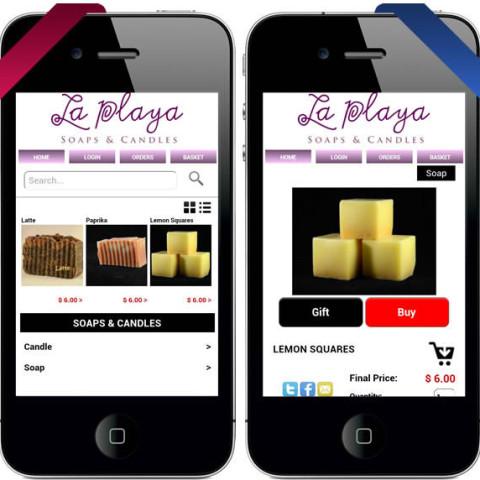LaPlaya Soaps Mobile Store