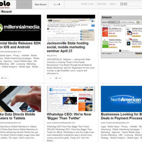 MoSoLo - Mobile Social Local News Site