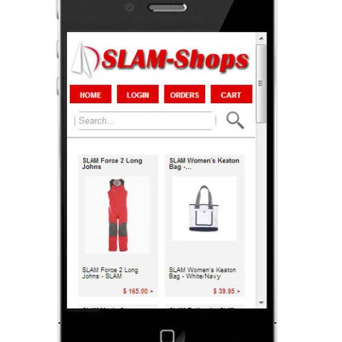 SLAM Shops Mobile Store