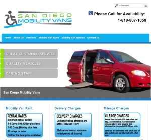 San Diego Mobility Van