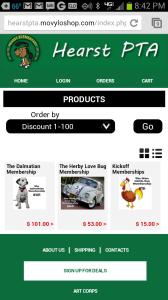 Hearst PTA Mobile Store