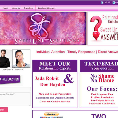 Sweetline Solutions WordPress Site