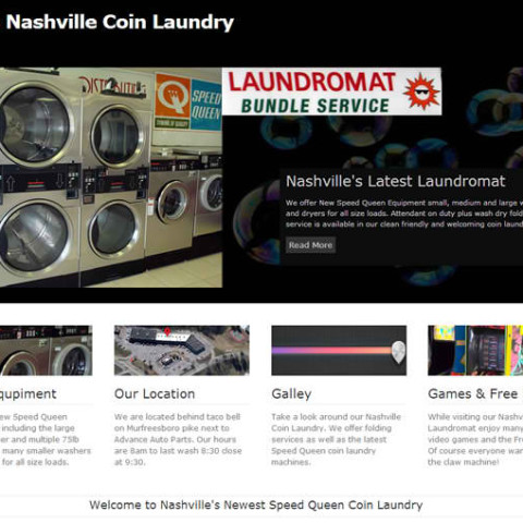 Vo's Laundromat WordPress Site